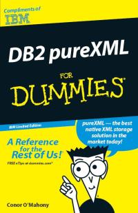 DB2 pureXML for Dummies